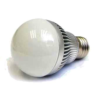 E27 LED Лампа 220V 5W Бяла Светлина