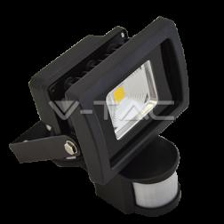 LED Прожектор с датчик за движение и рефлектор
